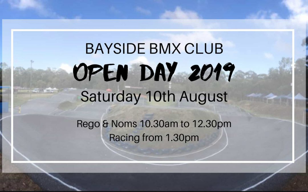 Bayside BMX Open Day 2019